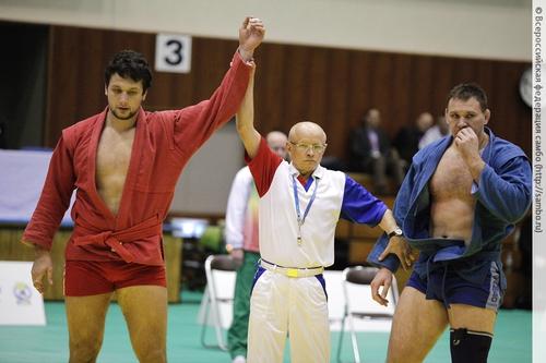 Артем Осипенко признан лучшим спортсменом Всероссийской федерации самбо